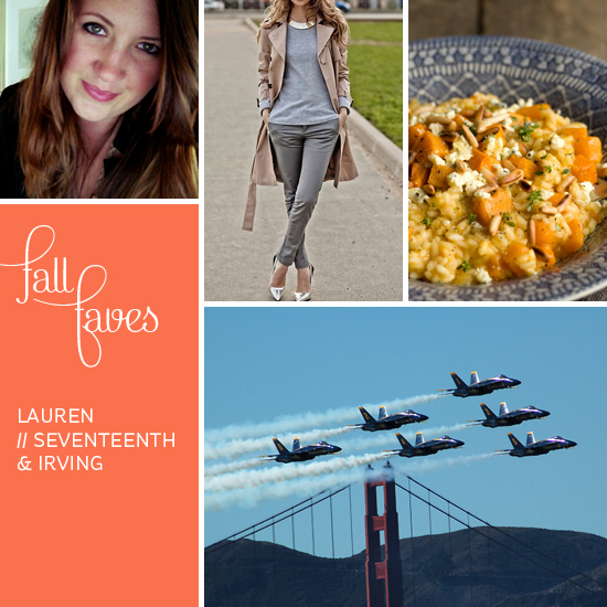 Fall Faves // Seventeenth & Irving // Elembee.com