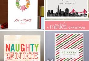 A Minted Christmas // Elembee.com