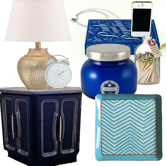 At home // Styling a nightstand // Elembee.com