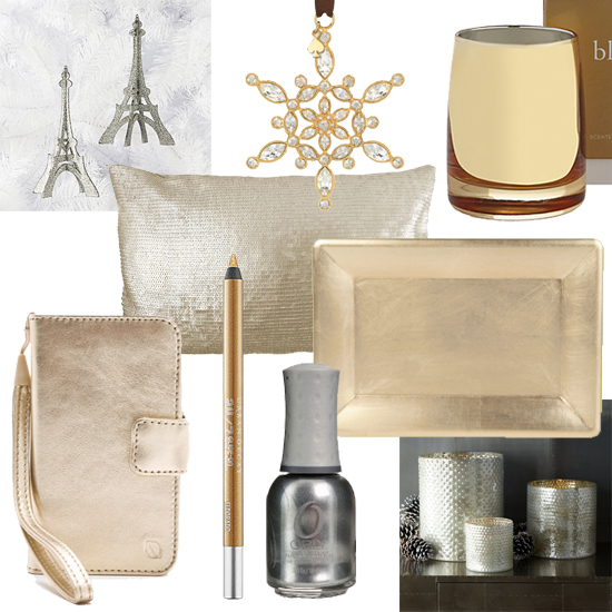 Better Together Holiday Style // Gold + Silver // Elembee.com