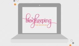 Blogkeeping Archives // How to add a pin it image hover // Elembee.com