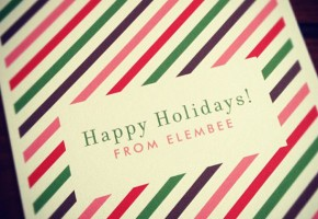 Happy Holidays // Elembee.com