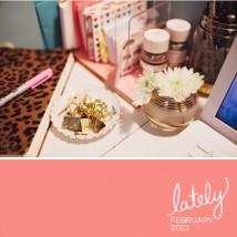 Lately // February 2013 // Elembee.com // Photo via Glitter Guide
