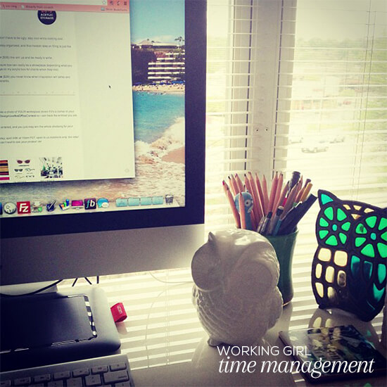 Working Girl // Time management // Elembee.com