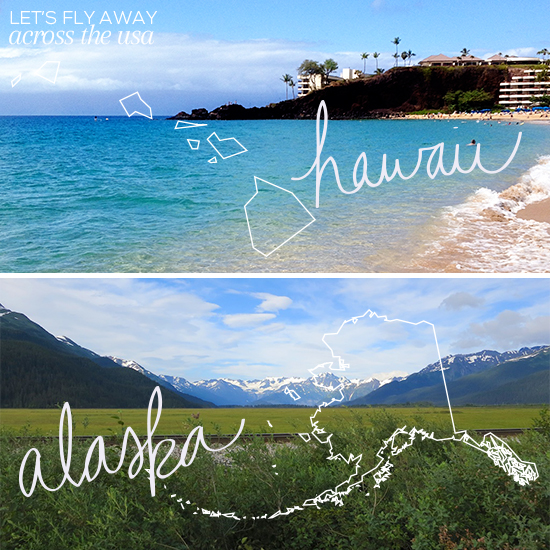 Across the USA // Hawaii and Alaska // Elembee.com