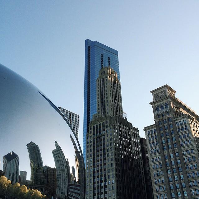 Even prettier when the sun is out. #Chicago #VSCOcam