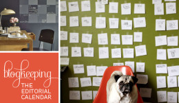 Blogkeeping // Creating an Editorial Calendar // Elembee.com