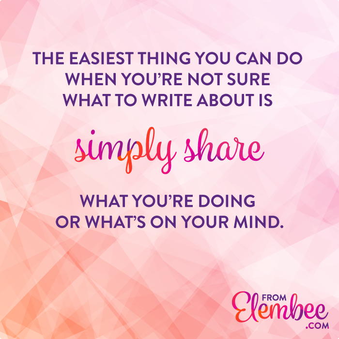The ultimate guide to blog post ideas from elembee.com