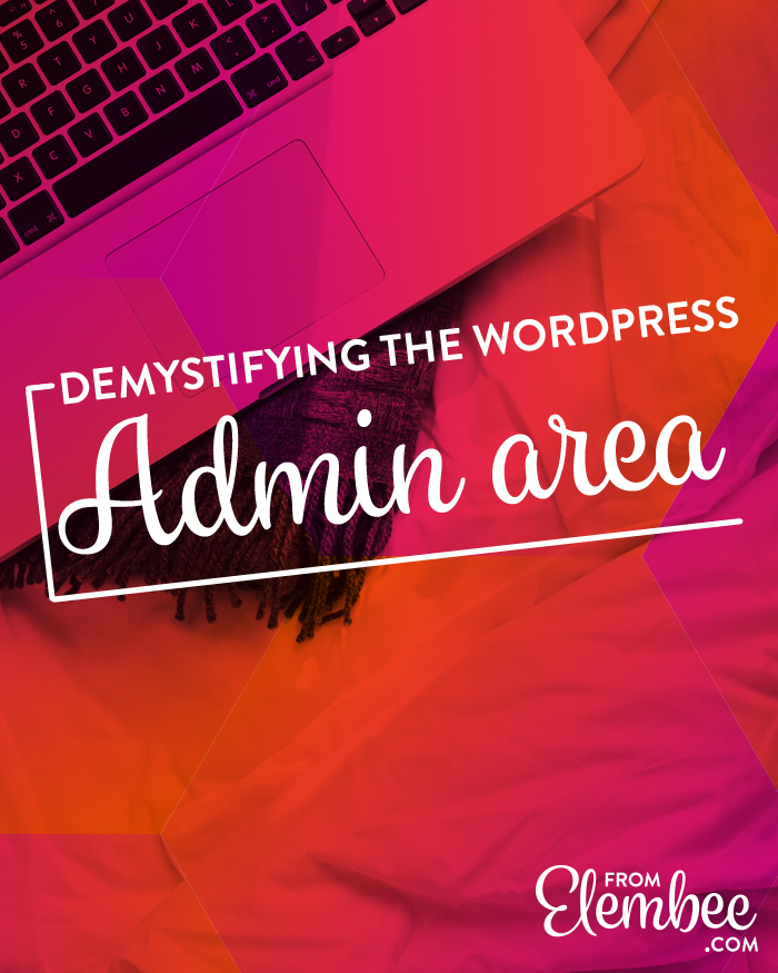 How to use WordPress Admin tutorial video