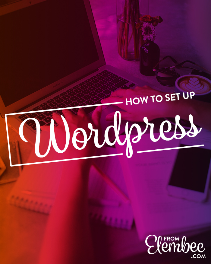 Learn how to set up your website in 6 steps with self-hosted WordPress.